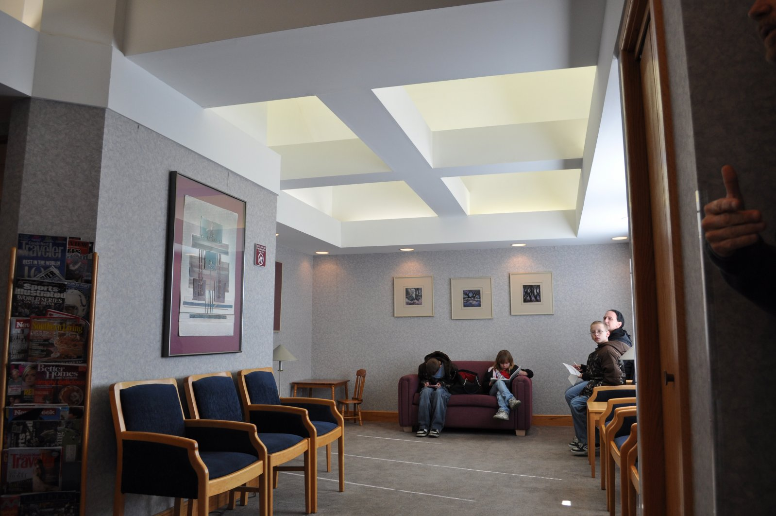 Dental Office, Waiting Area